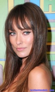 haircut with cheekbone length bangs