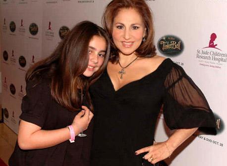 Kathy Najimy and daughter
