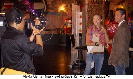 LATP crew interview Gavin Keilly at GBK MTV movie award gift suite