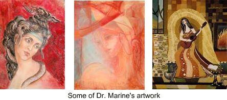 Dr. Marine Martirosyan's artwork