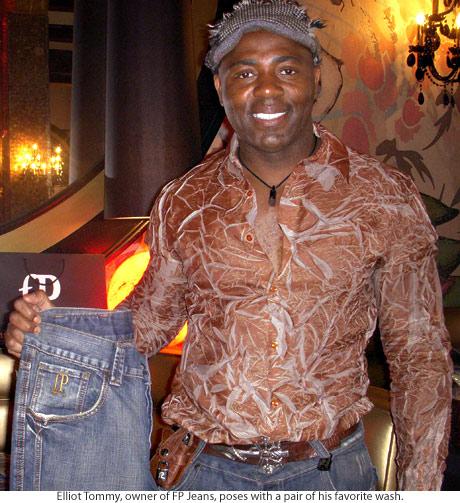 Owner and designer of FP Jeans Brand Elliot Tommy
