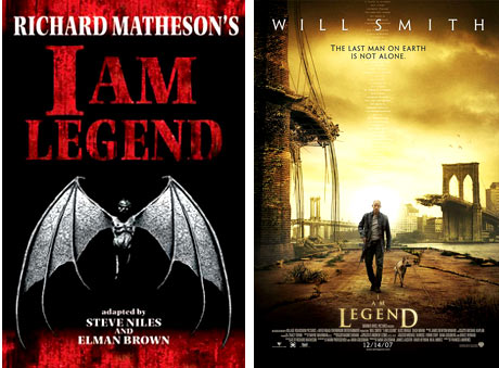 I Am Legend, Richard Matheson, Will Smith