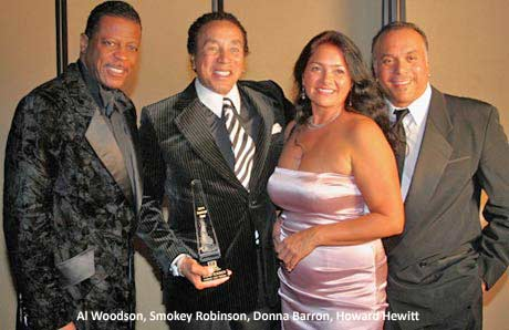 Al Woodson, Smokey Robinson, Donna Barron, Howard Hewitt