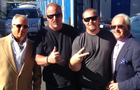 Kings of Swag with Storage Wars competitors Darrel Sheets and son Brandon