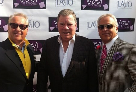 WOW! Creations' Matt and Mark Harris with William Shatner.