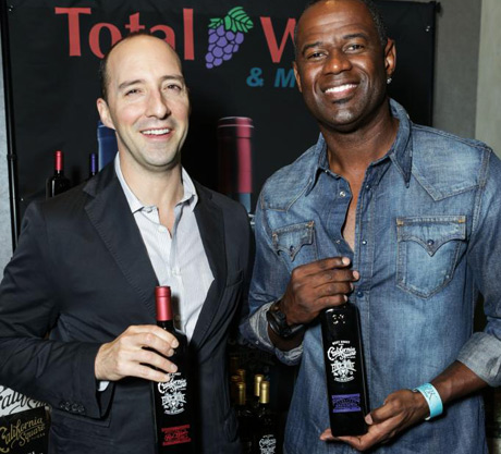 Tony Hale and Brian McKnight Total Wine