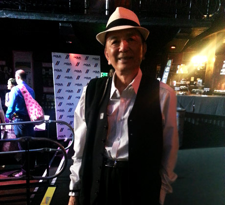 Actor James Hong at the Wounded Warrior Event