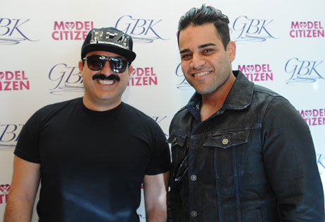 Reza and Mike