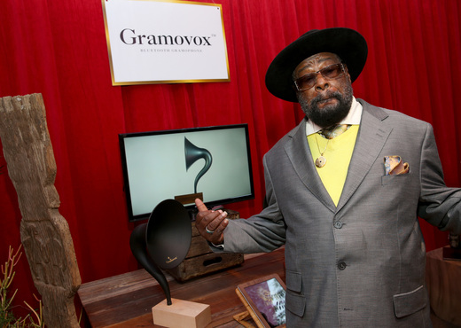 Recording artist George Clinton - singer, songwriter, bandleader and music producer and the principal architect of P-Funk (Photo by Imeh Akpanudosen/WireImage)