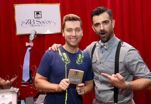 Lance Bass with ZB Savoy