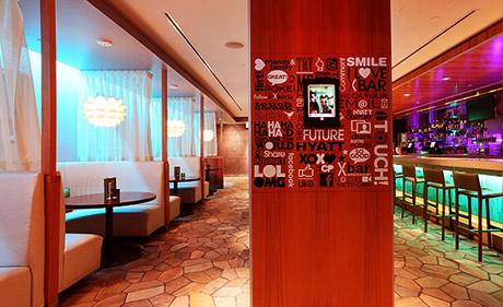 X bar lounge Hyatt Regency Century Plaza