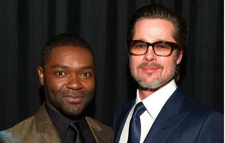 Brad Pitt and David Oyelowo