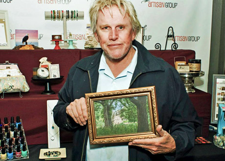 Gary Busey with Nature's Image by Design