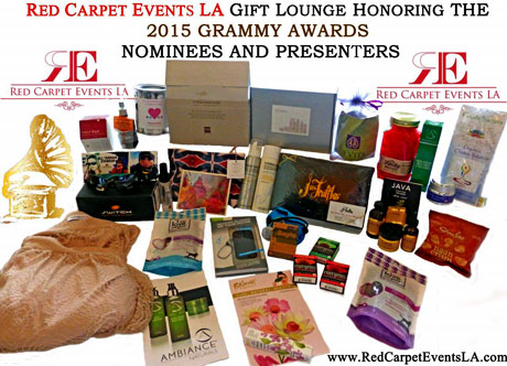 Red Carpet Events LA Grammy Gift Bag