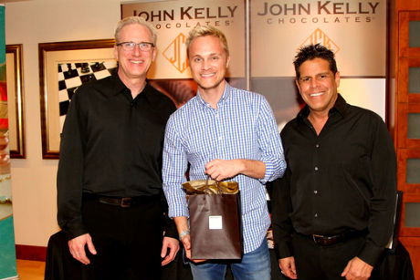 David Anders (C) John Kelly Chocolates