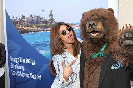 Priyanka Chopra with Energy Upgrade California®