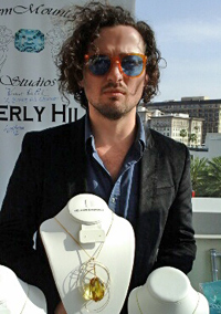 Jewelry designer and co-owner of GMS, Isaac Kaufman.