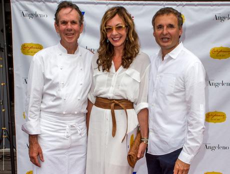 Chef Thomas Keller, Alyson Janney