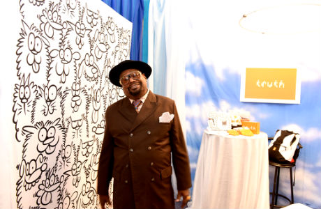 Singer George Clinton attends the GRAMMY Gift Lounge during The 58th GRAMMY Awards at Staples Center on February 13, 2016 in Los Angeles, California.