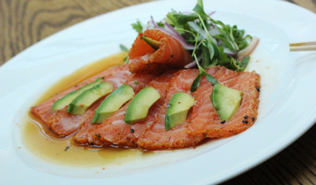 Seared-Salmon-Sashimi