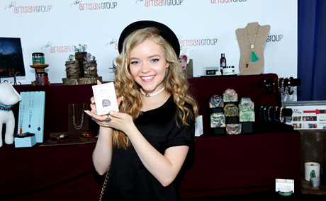Actress Jade Pettyjohn with The Artisan Group