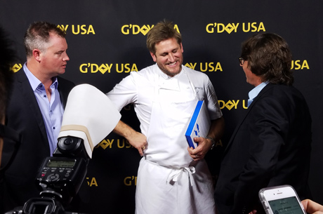 Chef Curtis Stone G'Day LA