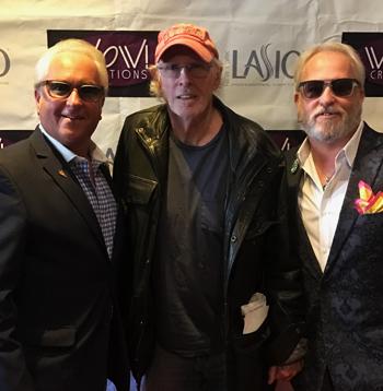 Mark Harris, actor Bruce Dern and Matt Harris