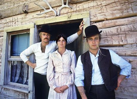 "Robert Redford, Katherine Ross and Paul Newman from ""The Sundance Kid …ce Kid"" 1968"