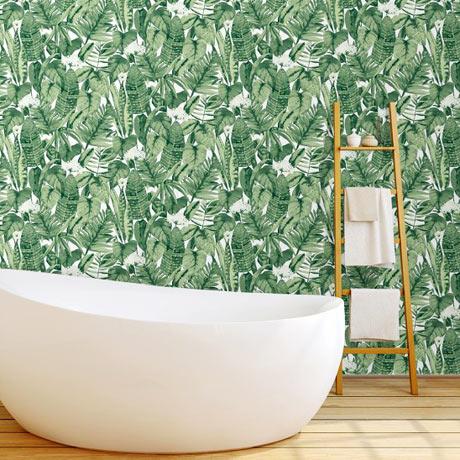 Tempaper Tropical Jungle Green