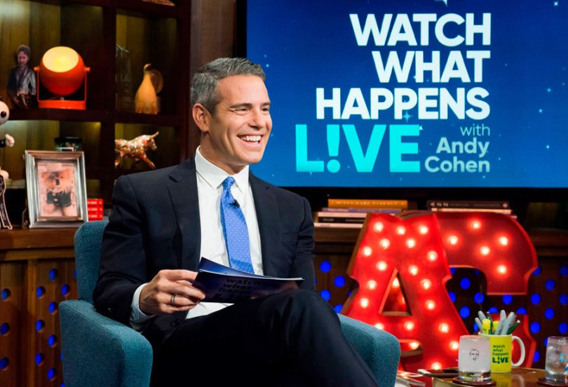 Emmy-winning Bravo TV producer and host Andy Cohen