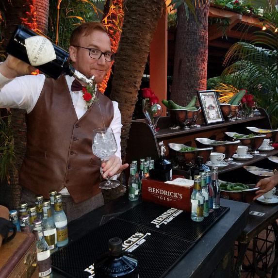 Hendrick's Gin Ambassador Mark Stoddard