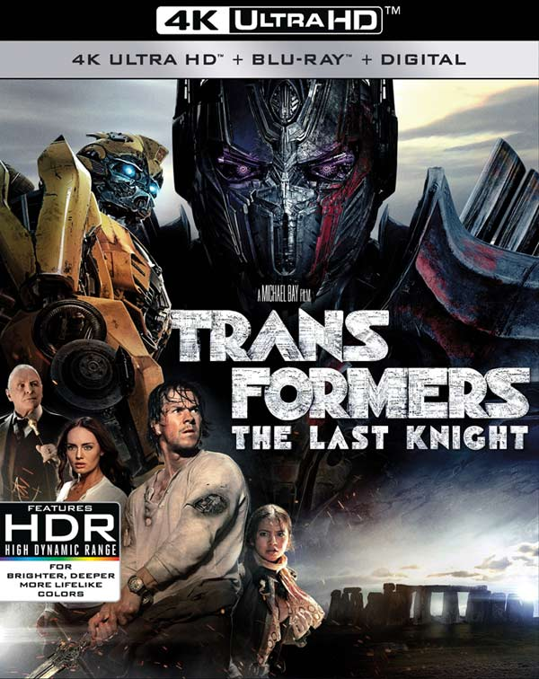 Transformers: The Last Knight debuts Sept 26, 2017 on 4K Ultra HD & Blu-ray