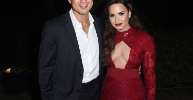 Mario Lopez and Demi Lovato