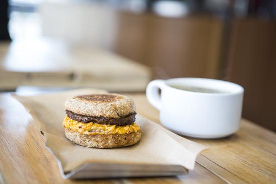 Badass Breakfast Sandwich