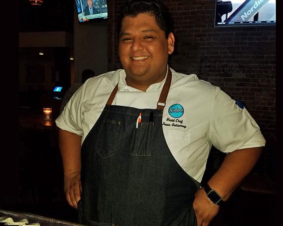 Surfside Executive Chef Jesse Gutierrez