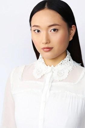 Actress Shudan Wang