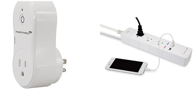 Amped Wireless Smart Plug and Smart Wi-Fi Power Strip
