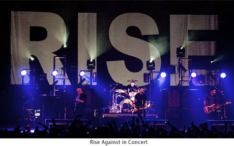 Rise Against on Tour