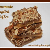 Homemade English Toffee Recipe