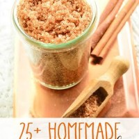 25+ Homemade Sugar Scrub Recipes