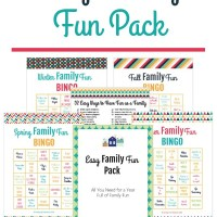 Easy Family Fun Pack - Activities for the Whole Year!
