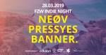 Donnerstag ist Indie Night im FZW