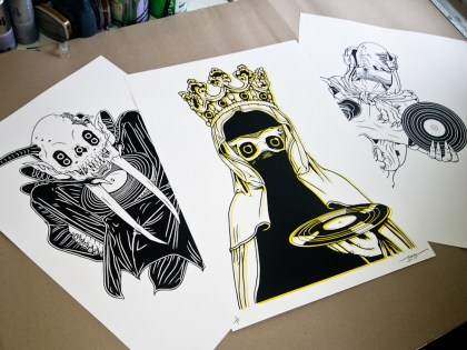 TRK x DUBWAY Art Print Series