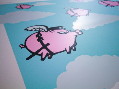 Mau-Mau's 'Pigs Might Fly' Print Edition