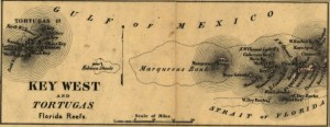 Chart of Key West and the Dry Tortugas
