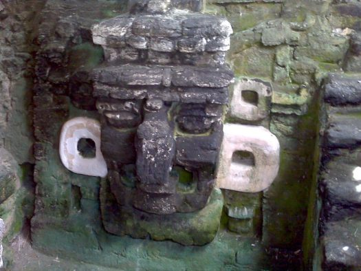 Tikal big nose mask