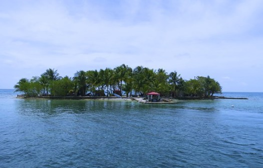 Tom Owens Cay in Belize