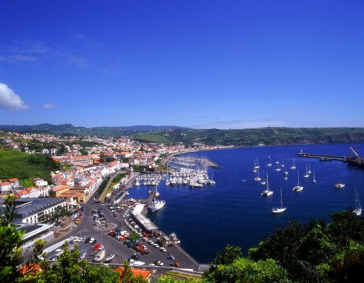 The Harbour at Horta, Azores