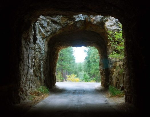 Blackhills Natl Forest, SD Tunnel #2