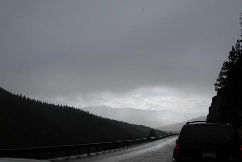 Rainy Colorado Highlands
